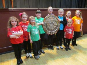 Pendle Children's Choir with the Smith Shield